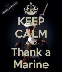 I do everyday!!! I love my Marine neighbor, we've all become like family!