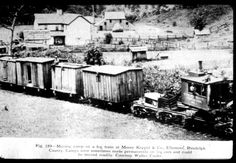 Mobile Camp on Locomotive...?:Tried to place the period... what looks 1800's could be c.1920 -around the time of the West Virginia Mine Wars 1920-21: Riffles, Machine Gun Nests, Even an Aerial Bomb was dropped on strikers who were armed with as little as Squirrel Guns …The Forgotten American War...  The Battle of Blair Mountain was one of the largest civil uprisings in United States history.