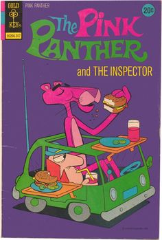 The Pink Panther and the Inspector 1973 Watch Cartoons, Old Cartoons, Classic Cartoons, Book Cover Art, Comic Book Covers, Comic Books, Panthères Roses, Pink Panter, Cartoon Books