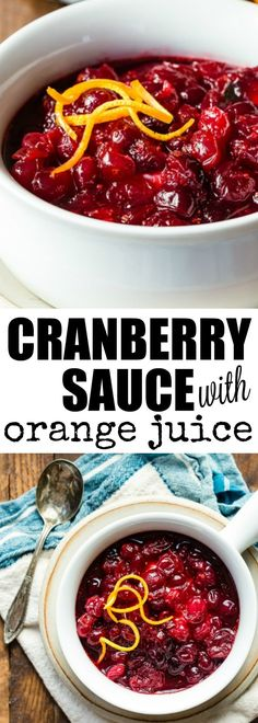 A classic Cranberry Sauce recipe for Thanksgiving.…