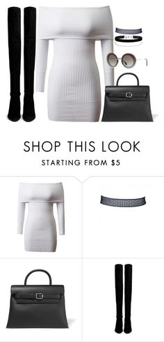 """""""Sin título #2338"""" by camila-echi ❤ liked on Polyvore featuring Alexander Wang, Stuart Weitzman and Miss Selfridge"""