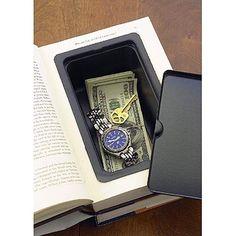 Book Vault Diversion Safe - Security & Spy Stuff - Office Desk Toys, Geek Swag & Cool Gadgets at KlearGear.com