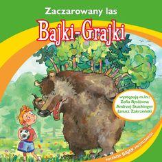 """Bajki-Grajki nr 78 """"Zaczarowany las""""  Ilustracja: Artur Gołębiowski  www.bajki-grajki.pl"""