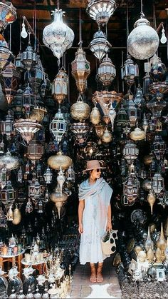 Shopping in the Souks of Marrakech, Morocco. A dream come true! Capadocia, Morocco Travel, Marrakech Travel, Italy Travel, Marrakech Morocco, Photos Voyages, Turkey Travel, Adventure Is Out There, Belle Photo