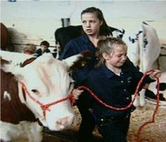 This little girl is crying because her cow had been sold for slaughter - our true self's are vegan x