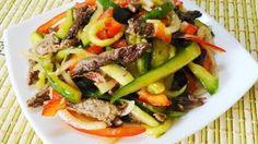 Вкусный салат с мясом говядины