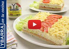 Discover more simple recipes and with a great result as our recipe for Summer Cake with Mayonnaise Ybarra. Summer Cakes, Mayonnaise, Tapas, Cheesecake, Easy Meals, Food And Drink, Diet, Cooking, Ethnic Recipes