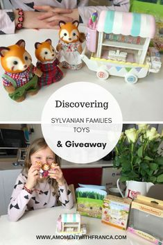 Discovering Sylvanian Families Toys - Our review of these cute little creatures.   #toyreviews #sylvanians Becoming Mom, Welcome To The Group, Sylvanian Families, Family Kids, Mom Humor, Educational Toys, Parenting Hacks, Fun Activities, Diy Design