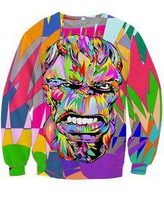 Hulk Crewneck Sweatshirts | Mopixiestore.com