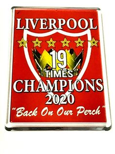 Liverpool Magnets Champions 2019 2020 Gifts Novelty's Liverpool Fc Gifts, Magnets, Champion, Ebay