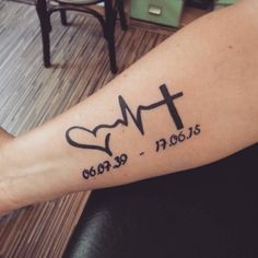 25 Heartbeat Tattoo Ideas and Design Lines  – Feel your own Rhythm