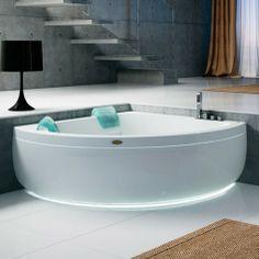 Jacuzzi Aquasoul Corner 155 Whirlpool Bath