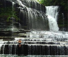6 Cummins Falls, TN About halfway between Nashville and Knoxville, Cummins Falls cascades 75 feet over wide stair-stepped rocks into a deep cold-water pool. From: America's Best Swimming Holes >Most Pinned Travel Photos: Cummins Falls, TN Best Swimming, Swimming Holes, Dream Vacations, Vacation Spots, Vacation Rentals, Places To Travel, Places To See, To Infinity And Beyond, Future Travel