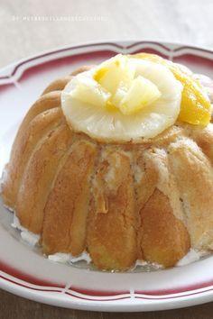 Charlotte légère au fromage blanc, ananas et mangue - recette tupperware®