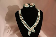 Crown Trifari Necklace  Rare DEMI PARURE by VintagebyViola on Etsy, $88.00