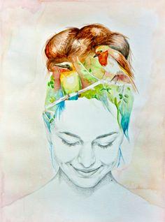 Naranjalidad, ilustraciones con mucha alma