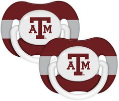 College Baby Pacifiers : Texas A Aggies Baby Pacifier
