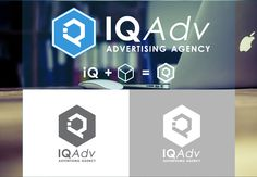 IQ Adv logo on Behance