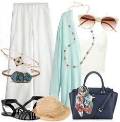 Breezy Mint Summer Outfit Idea