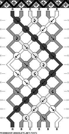 6 string pattern