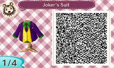Harley's Joker Suit | QRCrossing.com
