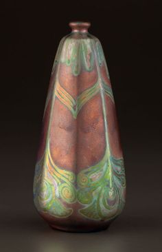 AN AMERICAN ART POTTERY VASE . Weller Pottery, Zanesville