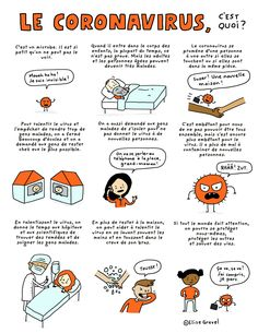 Coronavirus: free printable comic for kids French Language Lessons, French Lessons, Teaching Kids, Teaching Resources, French Classroom, Australian Curriculum, Autism Spectrum Disorder, Teaching French, Learn French