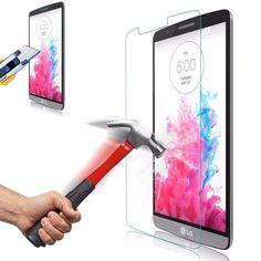 Tempered Glass Screen Protector Film For LG G3 G4 Beat G4s G3s Stylus G5 Spirit Magna Clas X Power K3 K4 K5 K10 K220DS Leon Case
