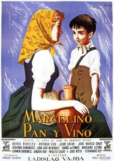Sección visual de Marcelino, pan y vino - FilmAffinity