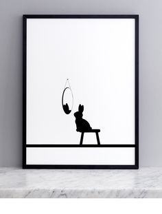 Reflective Rabbit Screen Print