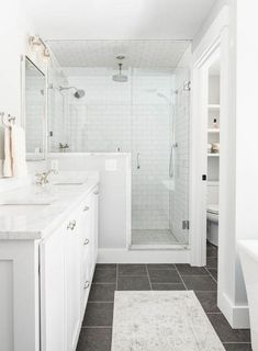 Amazing DIY Bathroom Ideas, Bathroom Decor, Bathroom Remodel and Bathroom Projects to simply help inspire your master bathroom dreams and goals. Zen Bathroom, Bathroom Renos, Basement Bathroom, Bathroom Renovations, Master Bathrooms, Master Baths, Bathroom Mirrors, Bathroom Cabinets, Bathroom Faucets