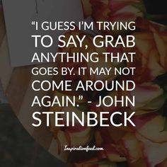 Know the inner workings of the mind of American author, John Steinbeck, through these profound John Steinbeck quotes. Life Quotes To Live By, Me Quotes, Live Life, John Steinbeck Quotes, Abraham Lincoln Quotes, Perspective On Life, Laugh At Yourself, Im Trying, Note To Self
