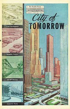 Worlds Fair City of Tomorrow 1962