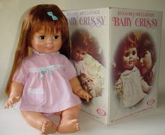 Baby Chrissy doll! Man I loved this doll!