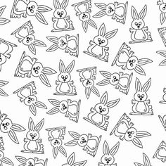'Bunny Pattern' by imagology