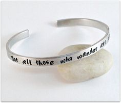 Not All Those Who Wander are Lost Lord of the Rings Cuff