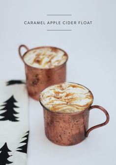 "intensefoodcravings: "" Caramel Apple Cider Float with Zevia 