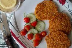 Hamburguesas de calabaza y avena. Receta saludable  http://www.vitonica.com/recetas-saludables/hamburguesas-de-calabaza-y-avena-receta-saludable
