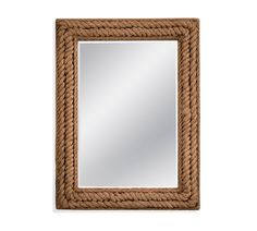 Borrowing the name of a quaint coastal town in Northern California, our Fort Bragg Mirror feels nautical and romantic all at once. Rope Mirror, Rope Frame, Mirror Art, Beveled Mirror, Wall Mirrors, Diy Mirror, Nautical Mirror, Fort Bragg, Seaside Decor