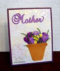 Ann Greenspan's Crafts: Mother's Day Crocus