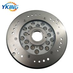 316L Stainless Steel IP68 18W/54W LED Pool Fountain Light Mode No.: YK-FT109 Material: 316L Stainless steel + 8mm Tempered Glass LED: 18x1W/3W Cree/Epistar 3in1 LED Chips. Size: D250*H33mm Beam Angle: 30/45/60/90 Power: 18W-54W Voltage: DC24V Color: Single Color/RGBV+ (Constant Voltage) Cable: 1.5M UL Rubber Cable Waterproof: IP68 Underwater use Warranty: 3 years  email:sales1@yaokingled.com Tel:+86-15889359850 (Whatsapp/Wechat) Skype: yaokingled website: www.yaokingled.com/en