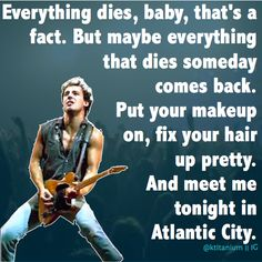 Atlantic City ~Bruce Springsteen