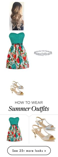 """""""Summer date outfit"""" by aak52610 on Polyvore featuring Fabulicious and Harry Winston"""
