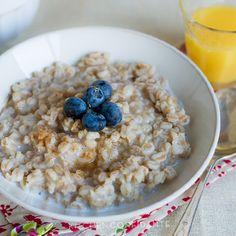 5 easy breakfast bowls healthier than cereal (like this Maple Cinnamon Breakfast Farro). #healthyeating #breakfastrecipes #healthyrecipes #everydayhealth | everydayhealth.com