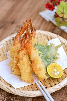 Cafe Food, Food Menu, Asian Recipes, Healthy Recipes, Ethnic Recipes, Healthy Food, Tempura, Savoury Dishes, Japanese Food