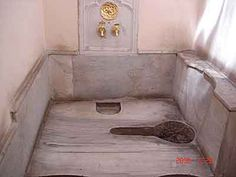 Turkish toilet.
