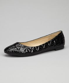 Take a look at this Skyler Black Magda Ballet Flat on zulily today!