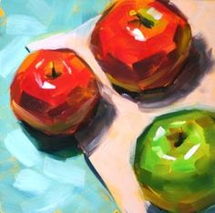Debbie Gonville Miller Apple Painting