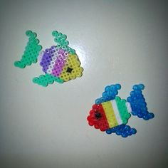 Fishes hama beads by frikithings