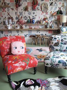 That pillow is just the cutest thing l site officiel nathalie lété | workshop